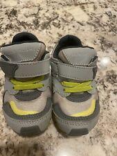 Tsukihoshi Toddler Tennis Athletic Shoes Size 7 Gray Green