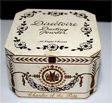 """CHARLES OF THE RITZ, Boîte à poudre de collection, """"Directoire Dusting Powder"""""""
