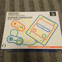 NEW Nintendo Classic mini Super famicom Console Japan ver SNES From Japan