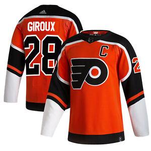 Claude Giroux a #28 Philadelphia Flyers 2021 Reverse Retro Jersey