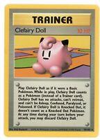 Clefairy Doll - Base Set - 70/102 - Rare - Trainer - Pokemon Card - NM Near Mint