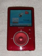 SanDisk Sansa Fuze (4GB) Digital Media MP3 Player Red. Works great, good cond