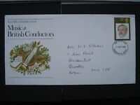First Day Cover 10 September 1980 Music British Conductors