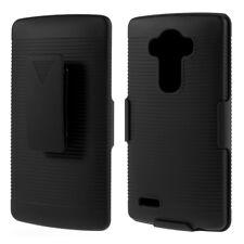 Outdoor Case Multi Kombi Holster Schutz Hülle Belt Gürtelclip Schwarz für LG G4