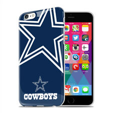 MIZCO NFL Dallas Cowboys iPhone 6 6s Oversized Logo TPU Cell Phone Case