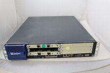 Juniper J-6350-JB 4-Ports Gigabit Router w/ 2x JX2T1-RJ48-S & 1xAC Power #162617