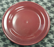 HENN POTTERY  9 INCH Salad PLATE/Cranberry (up to 16 available)