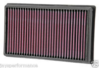KN AIR FILTER REPLACEMENT FOR AIR FILTER; PEUGEOT RCZ 2.0L; 2011-2013
