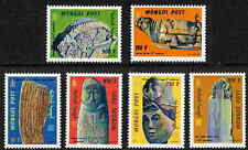 MONGOLIA 2000 STONE CARVING STAMPS - MINT COMPLETE SET OF 6!