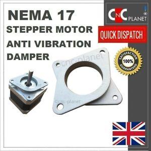 Nema 17 Stepper Motor Shock Absorber Anti Vibration Damper Mount Bracket 3d Prin