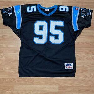Carolina Panthers Jersey Size XL Vintage Inaugural Season #95 Wilson NFL