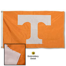 Tennessee Volunteers Embroidered and Appliqued Flag Large 3x5