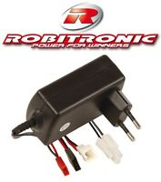 "AUTOM. 230V LADEGERÄT ROBITRONIC ""QUICK CHARGER"" 4-8 Z. 1A NC/NiMH # R01001"