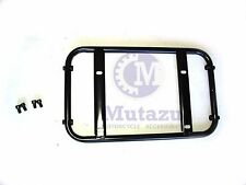 universal motorcycle metal luggage rack base plate for mounting  trunk rear case