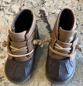 Sperry Baby Boots Boy - Size 3