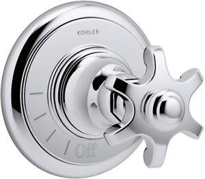 Kohler K-T72771-3M-VNT Artifacts Volume Control Valve Trim Polished Chrome