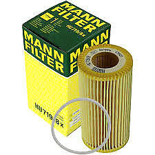 Volvo Oil Filter and seal C70 S40 V50 C30 Mann HU719/8x 8692305