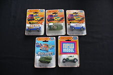 Lot 5 MATCHBOX 75 SUPERFAST N°65 N°30 N°73 N°70 canon auto porte autobus avion