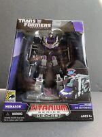 Menasor SDCC Titanium Series Die Cast Transformers Hasbro 2007 MISP Generation 1