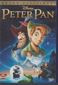 Disney # 16 Peter Pan Dvd Grand Classique