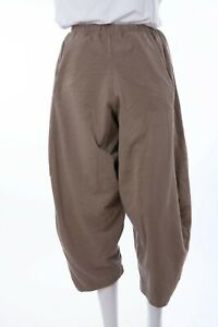NEW Italian Lagenlook COCOON PANTS/ SWEAT PANTS  One Size 10-18  Pockets