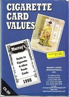 , Cigarette Card Values 1998: Guide to Cigarette and Other Trade Cards, Very Goo