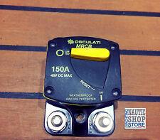 Interruttore termico 150A protezione per verricello ed elica di prua 02.701.40