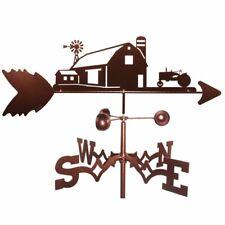 Swen Products Farm Scene John Deere Tractor Steel Weathervane