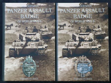 Buch The German Panzer Assault Badge of World War II - Philippe De Bock - NEU