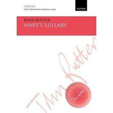 Mary's Lullaby John Rutter Oxford University Press Sheet Music 9780193413931