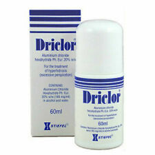 Driclor Antiperspirant 60ml Roll On Stops Sweating