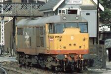 PHOTO  CLASS 31 LOCO NO 31181 AT LINCOLN 1987