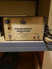 Thompson Csf Npc Regulated Power Supply Model 108ra 136v Nucleonics Products