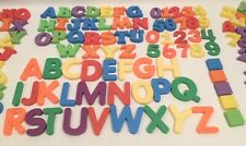 Playskool Magnetic Capital Letters & Numbers with Braille Plus More - Vtg