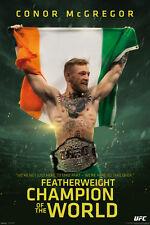 CONOR MCGREGOR 24x36 poster UFC MMA IRELAND WORLD FEATHERWEIGHT CHAMPION NEW HOT