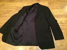 HUGO BOSS 40'' 100% Wool Black Smart Blazer Jacket Made In U.S.A