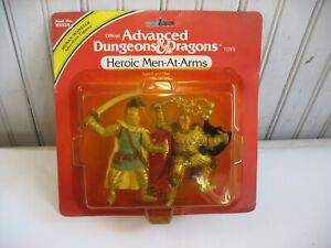 NIP 1982 TSR HEROIC MEN AT ARMS Advanced Dungeons & Dragons PVC figure set LJN