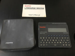 Franklin Language Master - QLM 2200