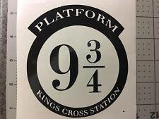 Harry Potter Platform 9 3/4 Kings Cross Wall Art Stickers Decals Vinyl Home Wall