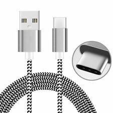 AMZER Gray 1M High Speed Tangle Free USB Type C Data Sync Charging Braid Cable