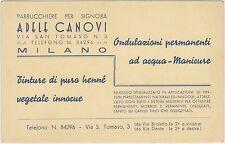MILANO - PARRUCCHIERE PER SIGNORA ADELE CANOVI