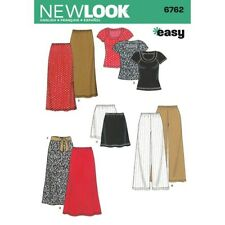 Look 6762 Size A Misses' Separates Sewing Pattern, Multi-Colour
