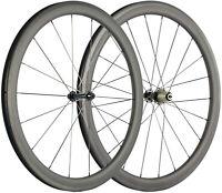 Ruote in Carbonio Ciclo 700C 45mm Ruote 25mm U Forma Copertoncino Bici UD Matte