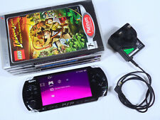 Sony PSP 3003 Slim & Lite Piano Black Playstation Portable WARRANTY VGC