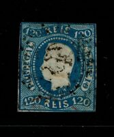 Portugal SC# 24, Used, side/ctr thin - S6546
