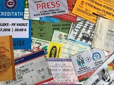 European UEFA Competition Ticket/Entradas/Biglietti *Choose from List 2*