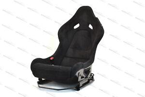 GENUINE MCLAREN P1 CARBON BUCKET SEAT IN BLACK ALCANTARA - LEFT SEAT ONLY