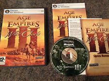 Age Of Empires 3, War Chiefs Pc Game! Complete! Look In The Shop!