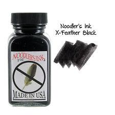 """""""Noodler's Ink Fountain Pen Bottled Ink, 3oz - X-Feather Black"""""""