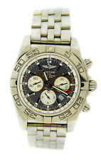Breitling Chronomat 47 GMT Brown Dial Stainless Steel Watch AB041012/Q586